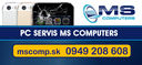 MS Computers- PC Servis SENEC