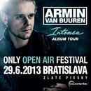 Armin van Buuren bude headlinerom ONLY OPEN AIR 29.6.2013 !!!
